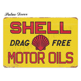 Metal signs - Gas stations SHELL 3 / 20x30 cm