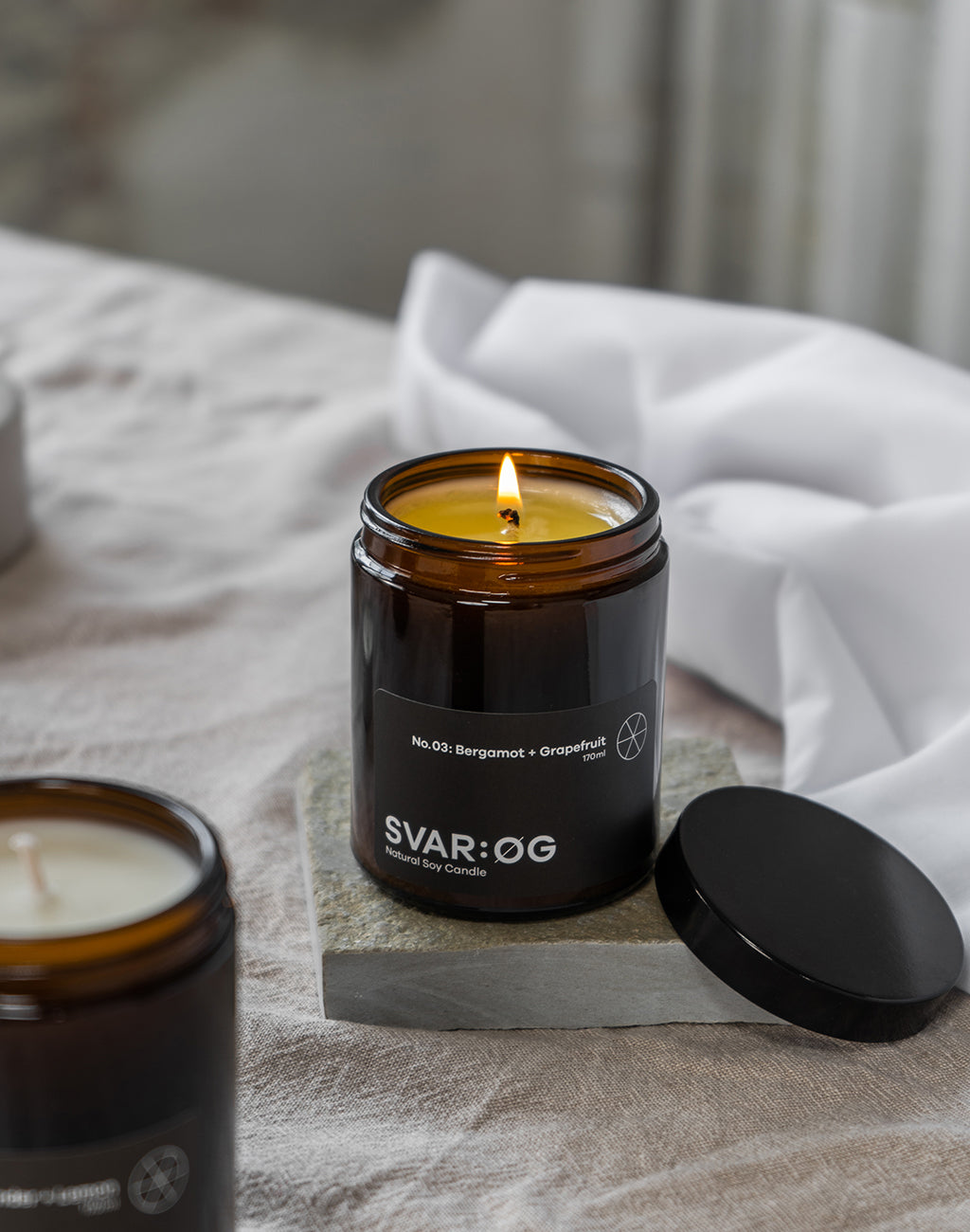 Bergamot + Grapefruit | Candle