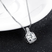 Load image into Gallery viewer, Rhinestone Crystal Zircon Pendant Necklace