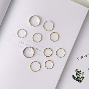 Korean Version Joint Ring Set