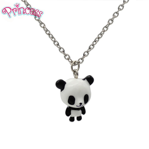 Cute  Panda Short Necklace