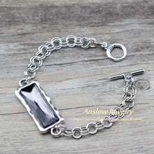 Load image into Gallery viewer, Crystal Zinc Alloy Metal Chain  Bracelets