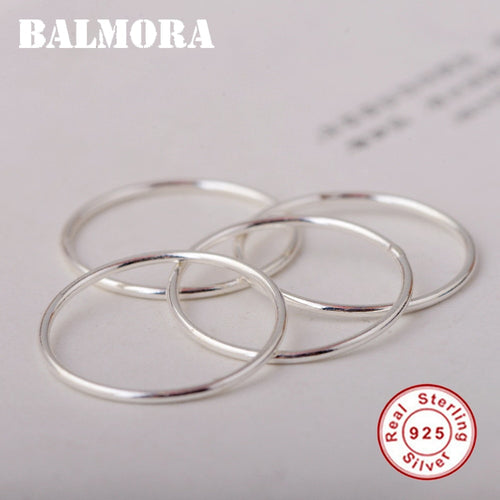 Real 925 Sterling Silver Midi Finger Knuckle Rings