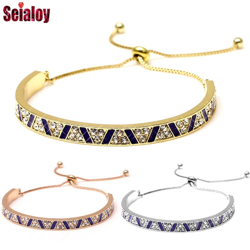 Multi-Layer Stainless Steel Bangle Bracelet