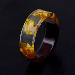 Dried Flower Epoxy Rings