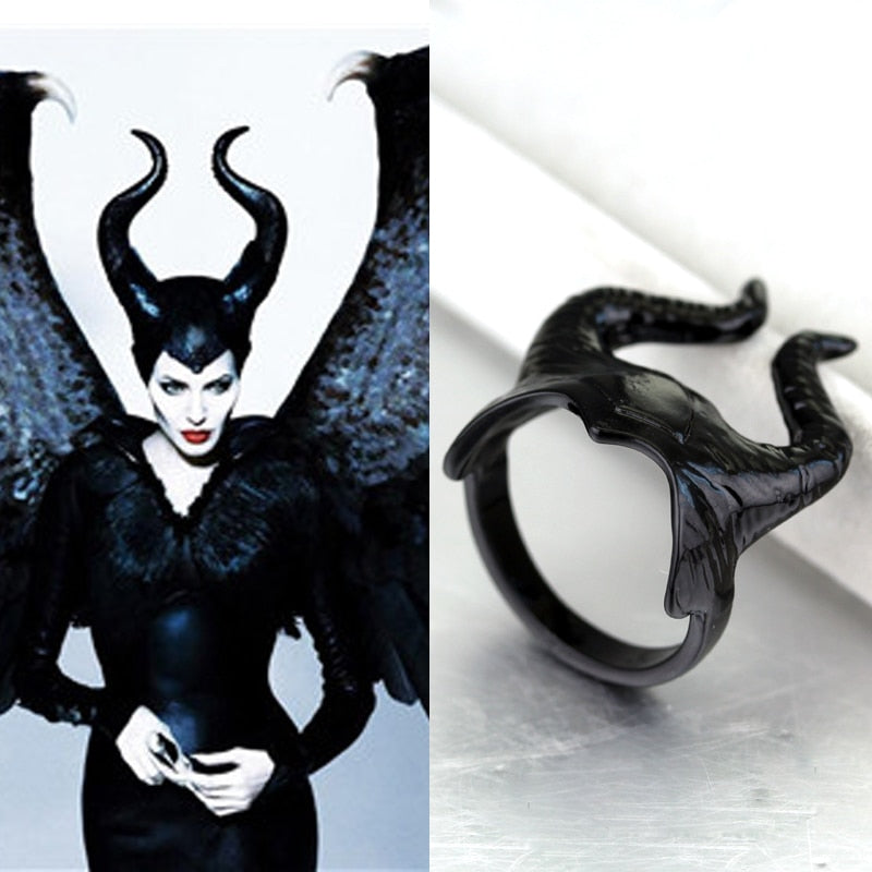 Maleficent Angelina Jolie  Rings