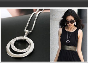 Long Chain Women Necklace