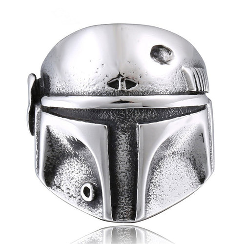 Star Wars The Mandalorian Helmet Ring