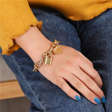 Load image into Gallery viewer, Retro Style Trendy 11Pcs/Sets Gold Silver Bangles Bracelets