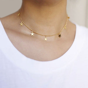 7 Star Choker Necklace