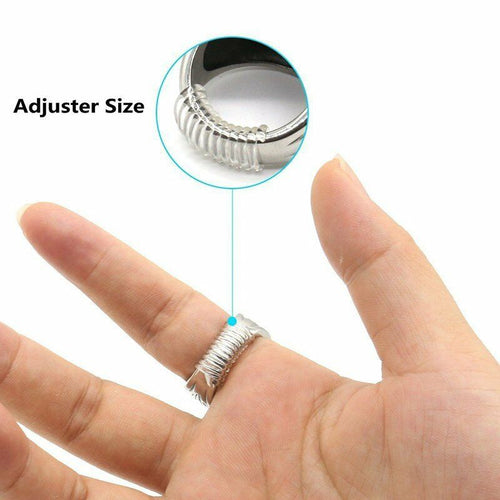 5pcs Rings Size Adjuster Fitter rings