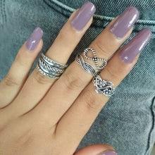 Load image into Gallery viewer, 4-11 pcs/Set Bohemian ring set
