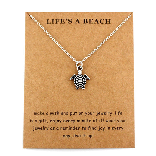 Sea Turtle Tortoise Necklaces