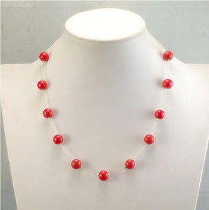 Red Beads Necklaces