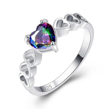 Load image into Gallery viewer, Solitaire Style Statement Ring