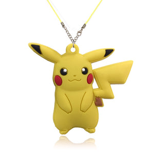 Pikachu PVC Pendant Necklaces