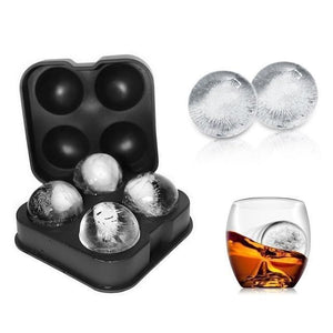 Creative Gun Bullet Skull Shape Ice Cube Make