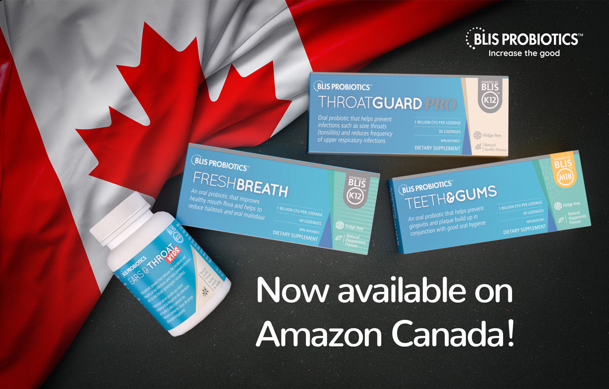 BLIS Probiotics on Amazon Canada