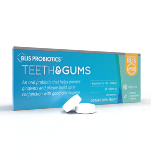 Teeth & Gums - Advanced oral probiotics to prevent tooth decay and gum disease