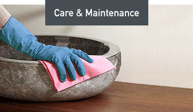 Maintenance and Care of your Vessel Sink