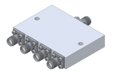 D-4184 Wideband Power Divider 4-way SMA Female from 4 to 18 GHz