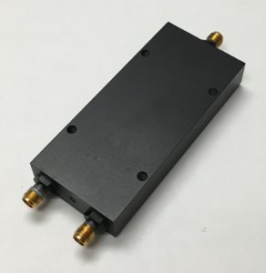D-2066-EC-BLK 2-way Power Divider 500MHz-6 GHz SMA-F (Black Paint)