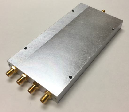 D-4066-EC 4-way Power Divider 500MHz-6 GHz SMA-F