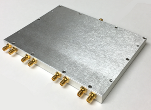 D-8066-EC  Wideband Power Divider 8-way SMA Female from 500 MHz to 6 GHz