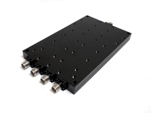 D-4182-EC WIDEBAND POWER DIVIDER 4-WAY SMA FEMALE FROM 2 TO 18 GHZ