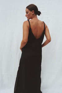 Emily low back maxi dress