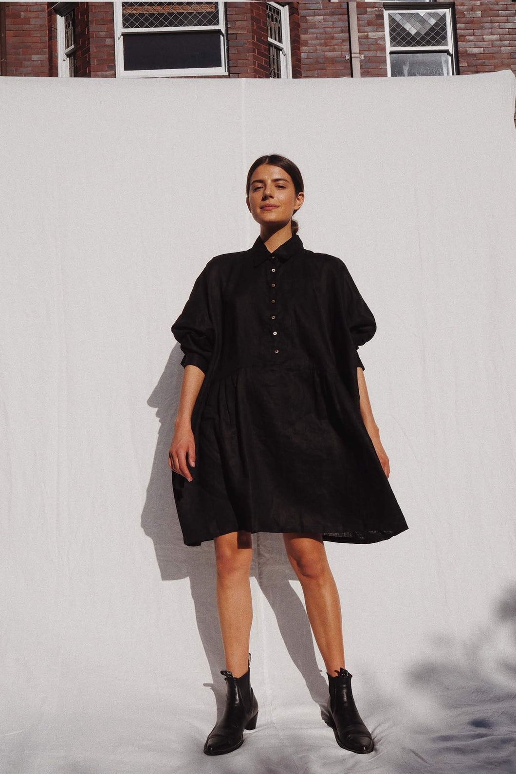 Byron Oversized Shirt Dress