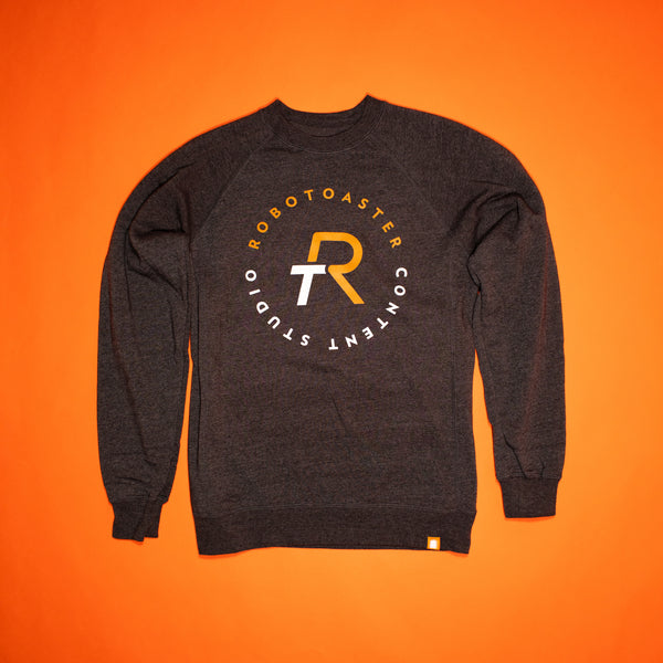 RT CONTENT STUDIO CREW NECK SWEATSHIRT