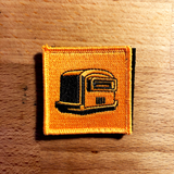 RT Toaster Velcro Patch