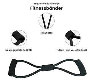 Laden Sie das Bild in den Galerie-Viewer, 8-förmiges Fitnessband - Heavyfit