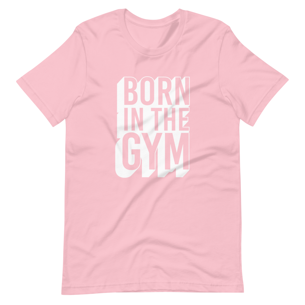 "T-Shirt ""Born in the gym"" - Heavyfit"