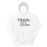 "Hoodie ""Train like a soldier"" - Heavyfit"
