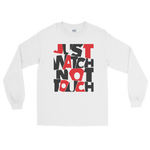 "Langarmshirt ""Just watch not touch"" - Heavyfit"