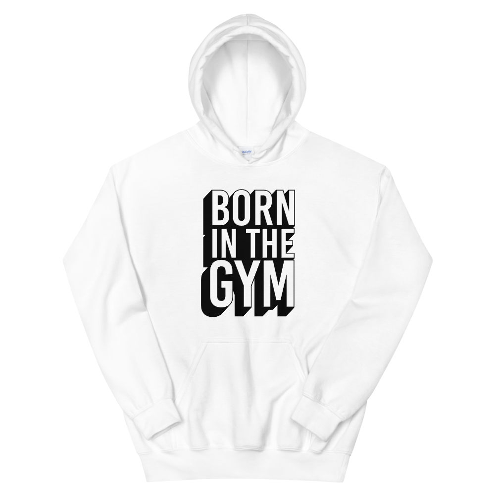 "Hoodie ""Born in the gym"" - Heavyfit"