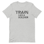 "T-Shirt ""Train like a soldier"" - Heavyfit"
