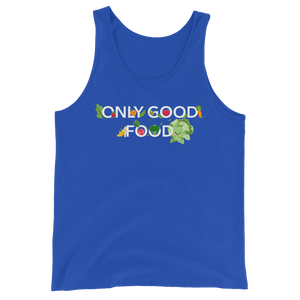 "Premium Tank-Top ""Only good food"" - Heavyfit"