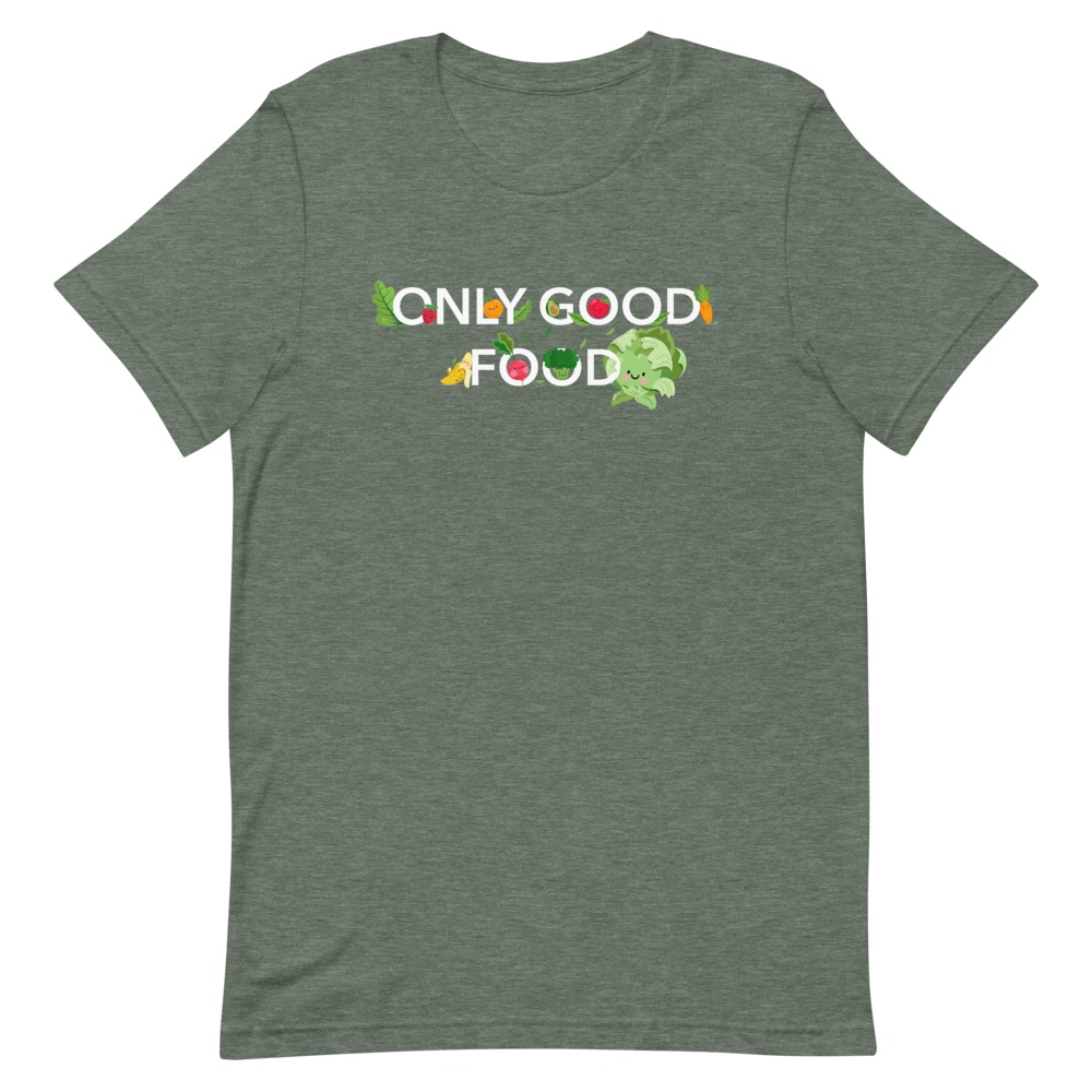"T-Shirt ""Only good food"" - Heavyfit"
