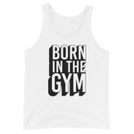 "Premium Tank-Top ""Born in the gym"" - Heavyfit"