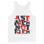 "Premium Tank-Top ""Just watch not touch"" - Heavyfit"