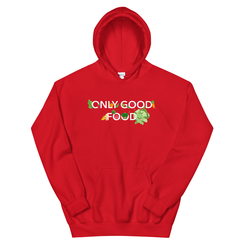 "Hoodie ""Only good food"" - Heavyfit"
