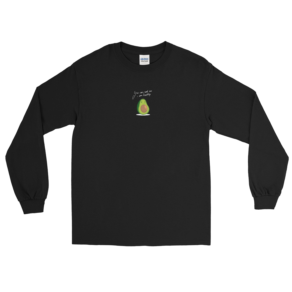 "Langarmshirt ""Healthy Avocado"" - Heavyfit"