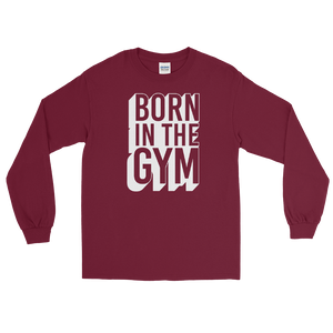 "Langarmshirt ""Born in the gym"" - Heavyfit"