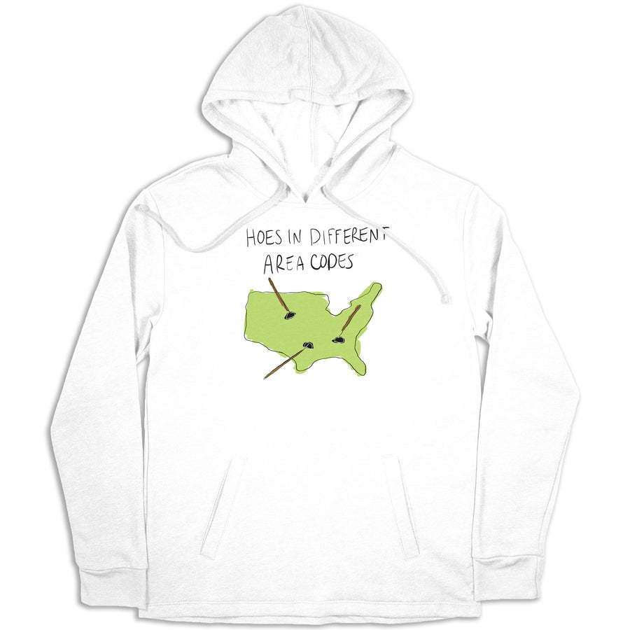 Hoes In Different Area Codes Hoodie