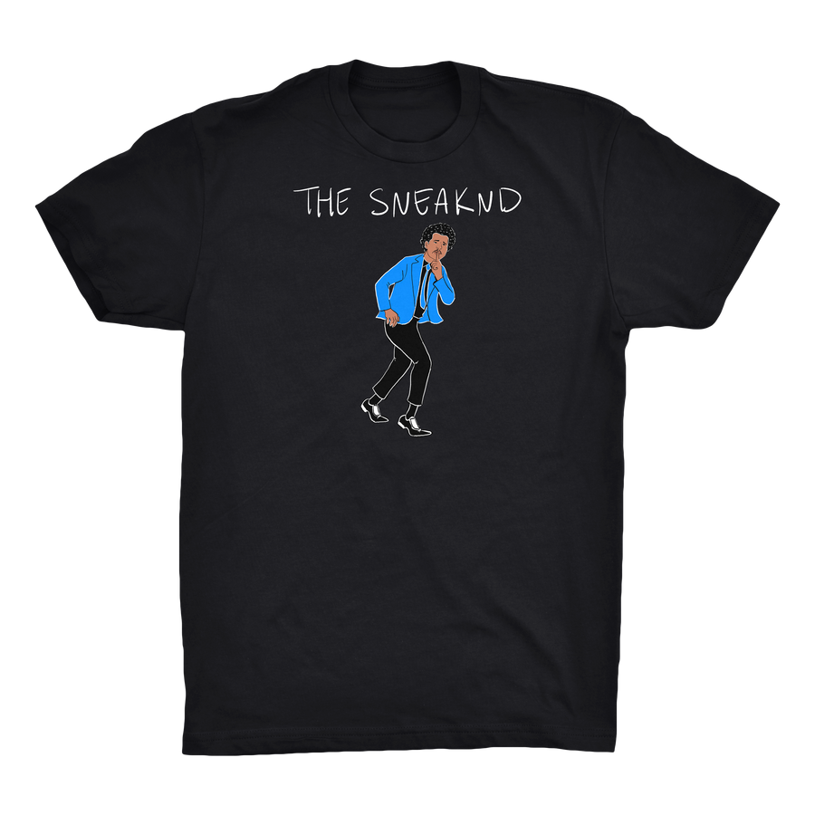 The Sneaknd Black Tee