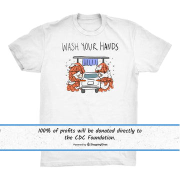 Wash Your Hands Charity Tee
