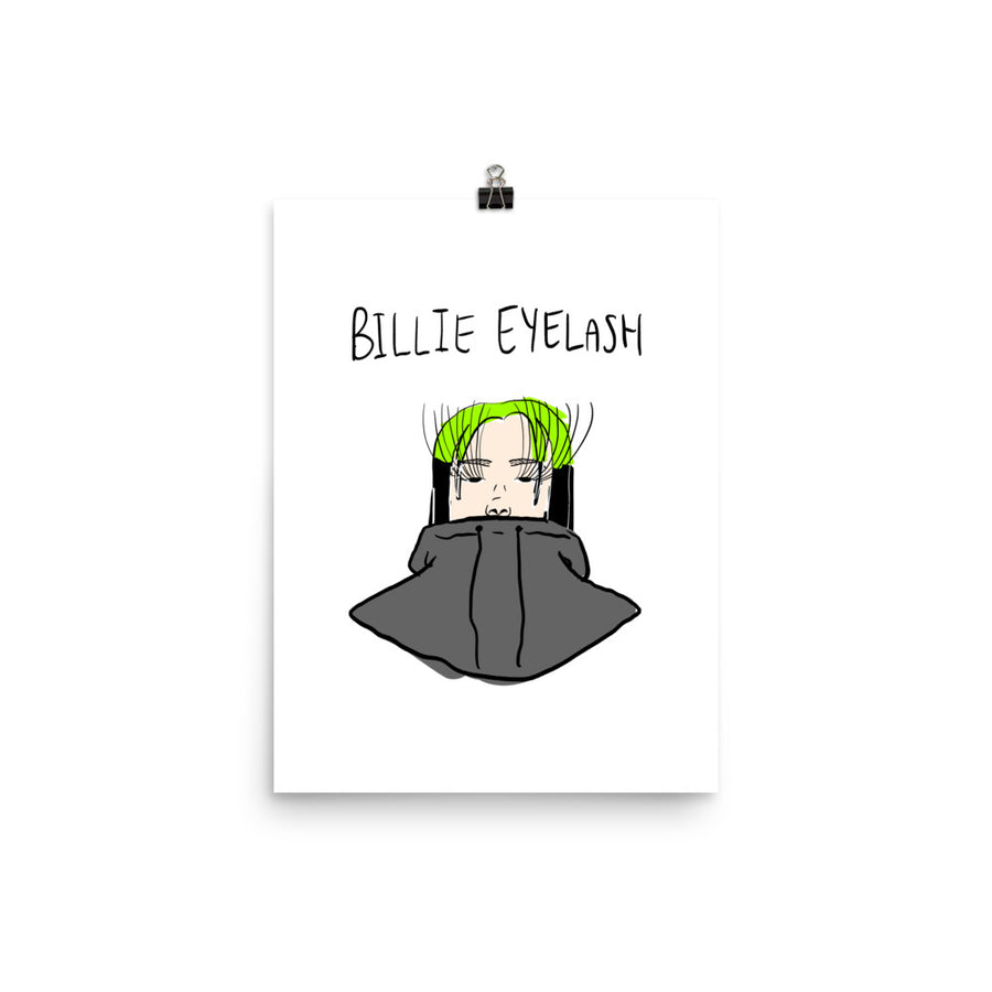 Billie Eyelash Poster